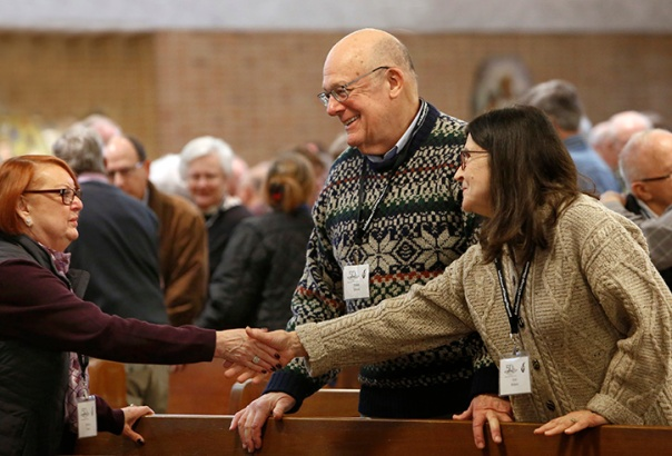 At the close of the Mass, we will note the presence of the following people and thank them for their history of support and leadership in the Diaconate in Chicago:  Father Ed Salmon and Fr. Mike Ahlstrom, our two vicars emeriti.                 Father