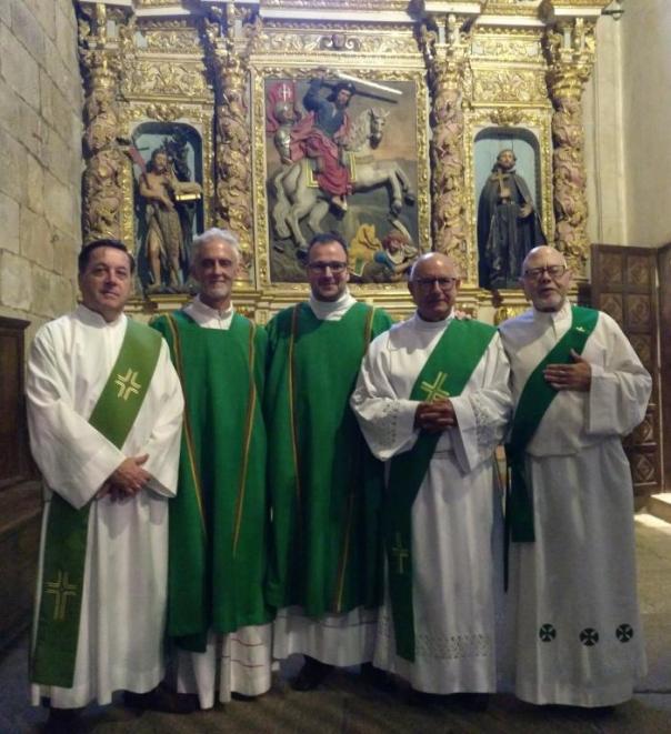 Ordenación Diaconal Luis Enrique 7 Jul 2019 2